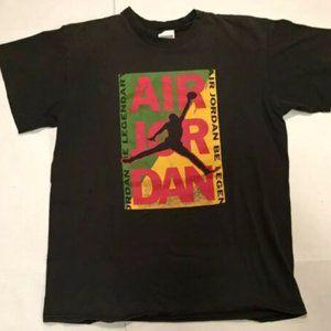 VTG 90s Nike AIR Jordan Single Stitch T-shirt Sz M